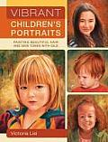 Vibrant Childrens Portraits Painting Beautiful Hair & Skin Tones With Oils