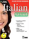 Instant Immersion Italian With Stickers & Map & Flash Cards & DVD ROM