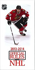 2013-14 Official Rules of the NHL (Official Rules)