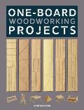 One-Board Woodworking Projects Cover