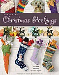 Crocheted Christmas Stockings (Leisure Arts #4032) Cover