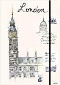 London: Travel Journal Large