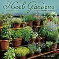 Herb Gardens Calendar: Recipes & Herbal Folklore
