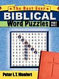 The Best Ever Biblical Word Puzzles Easily Solved
