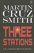 Three Stations (Large Print) (Center Point Platinum Fiction) Cover