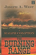 The Burning Range (Large Print) (Center Point Premier Western)
