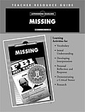 Missing Teacher Resource Guide