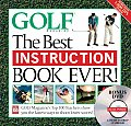 Golf The Best Instruction Book Ever With DVD 12 Ways to Drop 12 Strokes