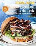 Food & Wine Annual Cookbook 2010