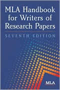 MLA Handbook for Writers of Research 7th Edition