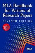 MLA Handbook for Writers of Research Papers (MLA Handbook for Writers of Research Papers) Cover