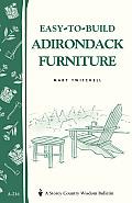 Easy-To-Build Adirondack Furniture