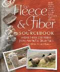 The Fleece and Fiber Sourcebook: More Than 200 Fibers, from Animal to Spun Yarn Cover