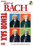 Best of Bach: Tenor Sax [With CD (Audio)]