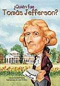 Quien Fue Tomas Jefferson? /Who Was Thomas Jefferson? (Quien Fue]]? / Who Was]]?) Cover