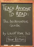 Teach Anyone to Read: The No-Nonsense Guide Cover