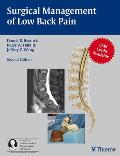 Surgical Management of Low Back Pain: A Co-Publication of Thieme and the American Association of Neurological Surgeons