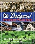 Go Dodgers Crossword Puzzle Book