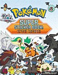 Pokemon Super Sticker Book: Unova Region!