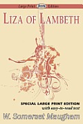 Liza of Lambeth (Large Print)