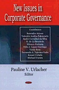 New Issues in Corporate Governance