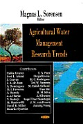 Agricultural Water Management Research Trends