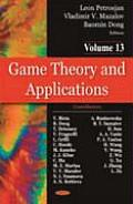 Game Theory and Applicationsvolume 13