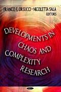 Developments in Chaos and Complexity Research