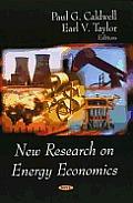 New Research on Energy Economics
