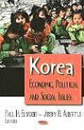 Korea: Economic, Political and Social Issues