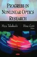 Progress in Nonlinear Optics R