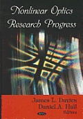 Nonlinear Optics Research Prog