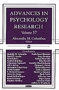 Advances in Psychology Researchvolume 57