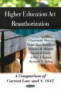 Higher Education ACT Reauthorization