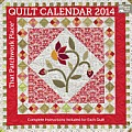 That Patchwork Place Quilt Calendar 2014