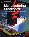 Manufacturing Processes (3RD 12 Edition)