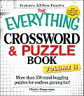 The Everything Crossword & Puzzle Book, Volume II: More Than 350 Mind-Boggling Puzzles for Endless Gaming Fun! (Everything) Cover