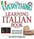 Everything Learning Italian Book - With CD (2ND 09 Edition)