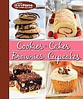 4 in 1 Cupcake, Cookie, Cake and Brownies Cookbook