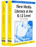 Handbook of research on new media literacy at the K-12 level; issues and challenges; 2v