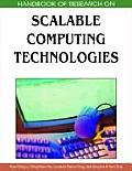Handbook of research on scalable computing technologies; 2v