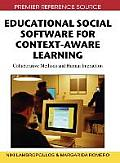 Educational social software for context-aware learning; collaborative methods and human interaction