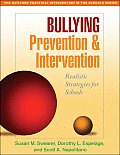 Bullying Prevention & Intervention Realistic Strategies For Schools