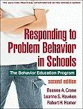 Responding to Problem Behavior in Schools The Behavior Education Program