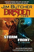 Dresden Files #02: Storm Front Cover