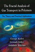 Fractal Analysis of Gas Transport in Polymers: the Theory and Practical Applications