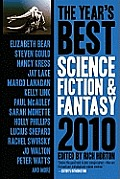 The Year's Best Science Fiction &amp; Fantasy, 2010 Edition (Year's Best Science Fiction &amp; Fantasy) Cover