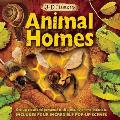 3D Close Up Animal Homes