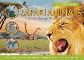 Safari Animals: A Journey Through the African Wilderness (3-D Explorer)