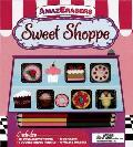 Sweet Shoppe Activity Book: Games, Puzzles, Doodling, and More! [With 3 Double-Ended Pencils and 6 Puzzle Erasers] (Amazerasers) Cover
